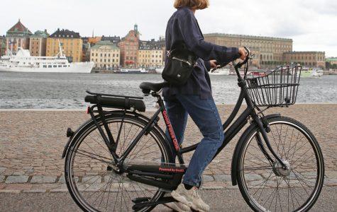 Cykeltrafikomläggningen